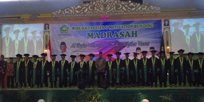 Wisuda Tahfidz & Motivasion Building oleh Kementrian Agama RI